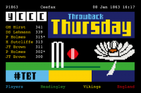 THROWBACK THURSDAY - SOME NEW HEADINGLEY TEST RECORD